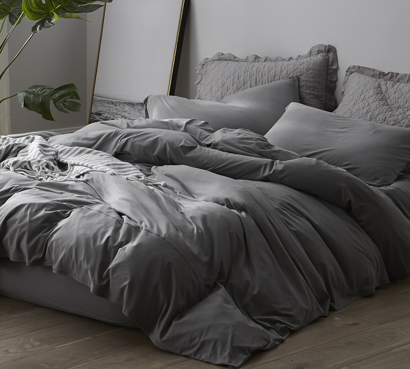 Gray Bedding Sheets Twin Extended For Winter Warmth Xl