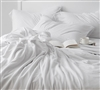 Comfortable bed Sheets for All Season - California King Bedding sheets White
