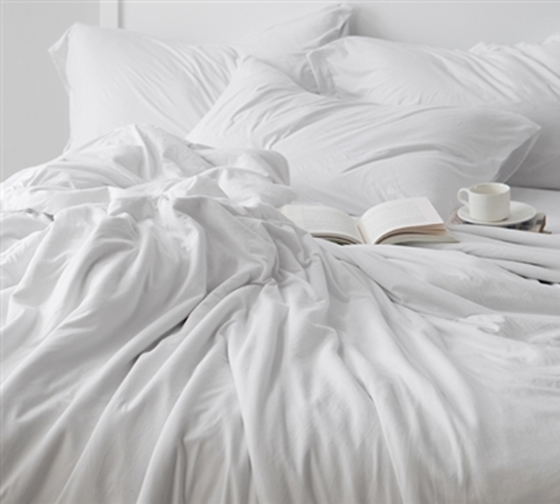 Find Twin Xl Size Sheet Set For Sleeping Naked White
