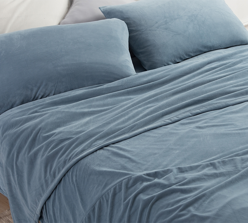 Best Plush Sheets For King Size Bed Most Comfortable Baby Bird Smoke Blue Coma Inducer Soft