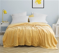 Stylish Mimosa Orange Coma Inducer Baby Bird Twin XL, Queen, or King Machine Washable Bedding Blanket
