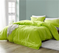 Baby Bird - Coma Inducer Oversized Comforter - Acid Lime