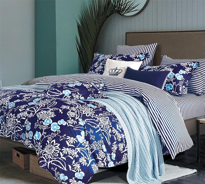 Indigo Lotus Full Comforter