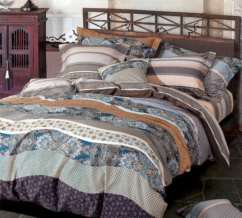 Juxta Waves Twin Comforter   Oversized Twin XL Bedding
