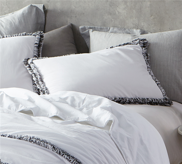 Boa Noite - 200TC Washed Percale Pillow Sham