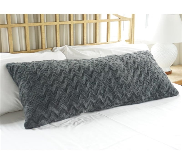 Plush Body Pillow Steel Gray Buy Body Pillows Online