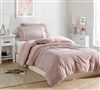 Machine Washable Luxury Plush Twin Extra Large Comforter You Savage Teddy Coma Inducer Pink Bedspread