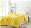 Birds of a Feather - Coma Inducer Oversized Twin Comforter - Sunshine Yellow