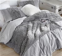 Are You Kidding? - Coma Inducer Oversized Comforter - Greyness