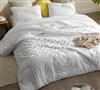 Softest Cotton with Thick Inner Fill Oversized King Comforter with Machine Washable Material and Chevron Print