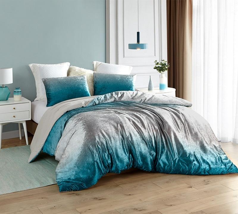 Coma Inducer Oversized Comforter Ombre Velvet Crush