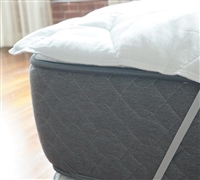 twin mattress thickness. Added Thickness Anchor Band Twin Mattress Pad - Protect And Add Comfort For The Best Bedding