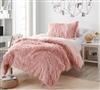 Long Plush Twin XL Comforter Set Ultra Plush Coma Inducer Oversized Twin Bedding Set