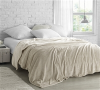 Coma Inducer Twin XL Blanket - The Original - Almond Milk