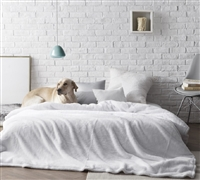 The Original Coma Inducer White Blanket Ultra Soft and Cozy Twin XL, Full, Queen, and King Bedding