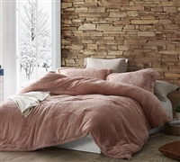 Coma Inducer Oversized Full Comforter - The Original Plush - Sepia Rose