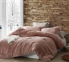 Softest Thick Luxury Plush Extra Large King Comforter in Stylish Pink Rose Color