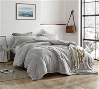 Coma Inducer Oversized Comforter - The Original Plush - Silver Stone