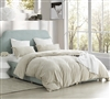 Coma Inducer Twin XL Duvet Cover - The Original Plush - Almond Milk