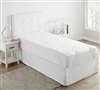 High Quality Full XL Mattress Pad Made with Machine Washable Microfiber Bedding Material