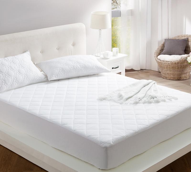 All Around Cotton Softest California King Bedding Mattress Pad 100 Fill Cozy Soft