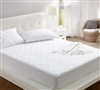 100% Cotton Fill - All Around Cotton Twin XL Mattress pads - cozy soft bedding pads to buy