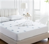 Cozy Plush - Jacquard Knit California King Mattress bedding pads - softest bedding mattress pads