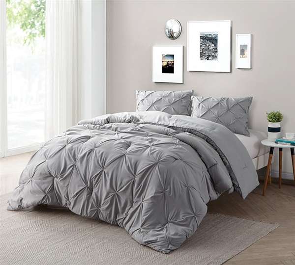 Find Xl King Size Bed Comforters Alloy Gray Bedding In King Xl
