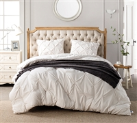 Jet Stream Pin Tuck XL King Comforter - Oversized King Bedding Sets