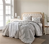 Softest Bedding - Silver Birch Pin Tuck King Comforter - Comforter King Size