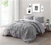 Shop For Bedding Online - Alloy Pin Tuck Queen Comforter - Bedding Queen