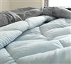 Glacier Gray/Alloy Full Comforter - Oversized Full XL Bedding