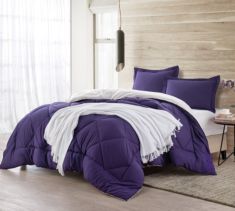 purple reignjet stream king comforter oversized king xl bedding