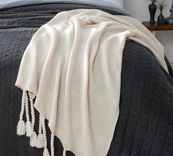 Braided Blanket Throw Size