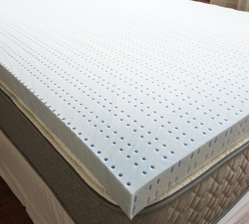 Search Memory Foam Bedding Toppers in Twin Size   3'' Gel Infused Foam