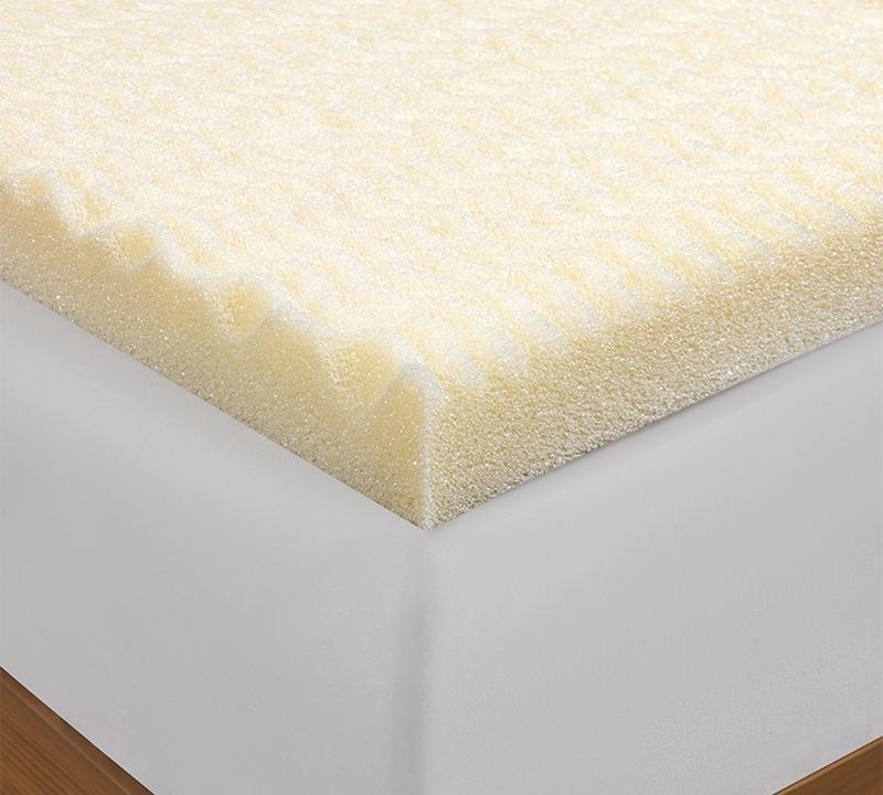 memory foam egg crate 5 Zone Egg Crate Memory Foam Twin XL Topper memory foam egg crate