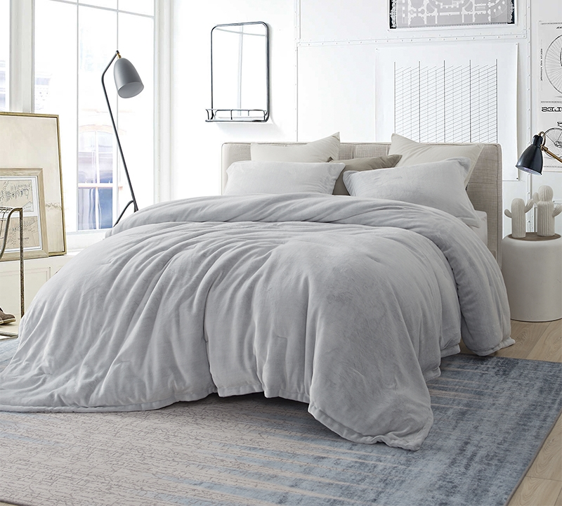 Coma Inducer King Comforter Oversized Xl Bedding Frosted Granite Gray