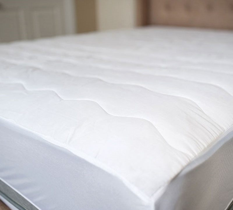 usa made 100 cotton top queen mattress pad