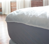 Queen Bed - Standard Queen Mattress Pad - Basic Mattress Pad