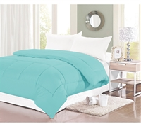 400 TC Twin XL Comforter - Aqua Haze Twin XL Bedding