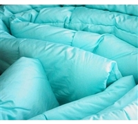 300TC Cotton Twin XL Comforter - Cancun Aqua - Cotton Comfort