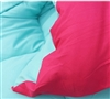 Caribbean Ocean/Knockout Pink Twin XL Comforter  Extra Long Twin Bedding Extra Long Twin Comforter