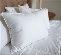 Soft Duck Fill - White Duck Down Standard Pillow - Quality Down Pillow