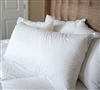 German Milled Batiste White Goose Down Standard Pillow