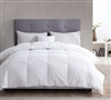 230 Thread Count White Duck Down Queen Comforter Queen Bedding Comforter Oversized Queen Comforter