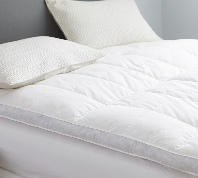 Luxury Down Top Duck King Featherbed Kingcal King Bedding
