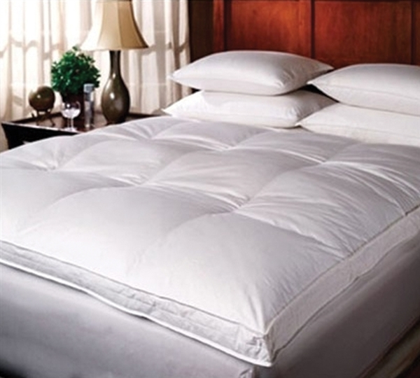 Luxury Down Top Goose King Featherbed