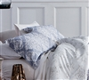 Silver gray queen sized bedding sham sets - sleep with softest sham sets and soft comforter sets Queen size