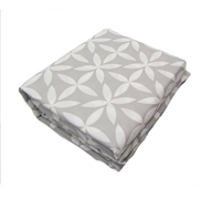 Serrafina Bed Sheets King - Gray Bedding Sheets in King