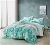 Calico Mint Full Comforter Bedroom Decor Designer Full Comforters